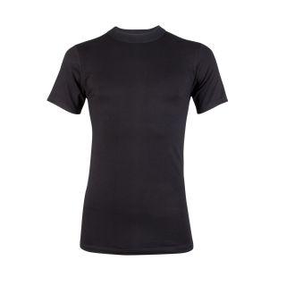 Beeren heren T-shirt 'Comfort Feeling' korte mouw ronde hals zwart