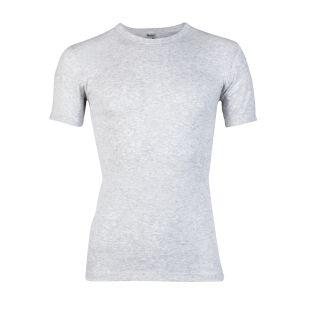 Beeren heren T-shirt korte mouw ronde hals grijs melee