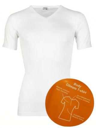 Beeren 'Body Climate' t-shirt V-hals wit