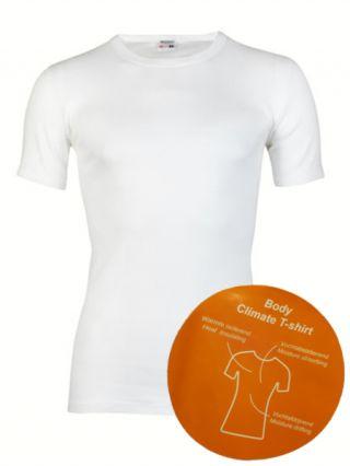 Beeren 'Body Climate' t-shirt ronde hals wit