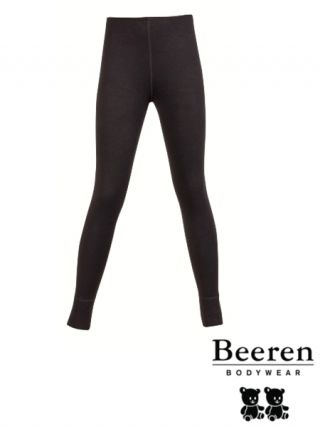 Beeren thermo kinder pantalon zwart